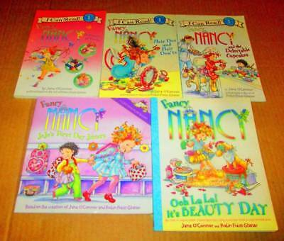 FANCY NANCY Lot of 5 -SOFTCOVERS Reading Books & Leveled Readers