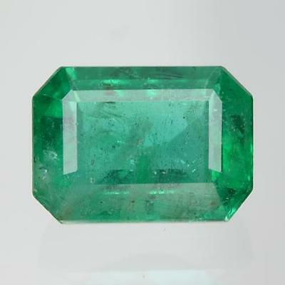2.31 cts ! Sparkling ! 100% Natural Nice Green Color Zambia Emerald