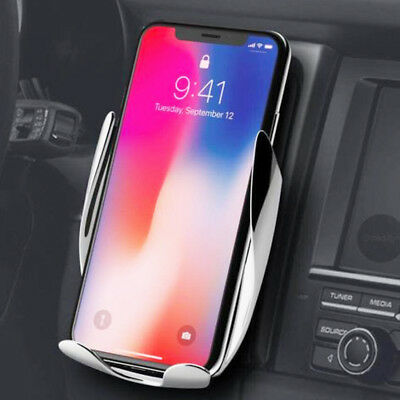 Automatic Clamping Wireless Car Charging Charger Mount Free / Fast Delivery