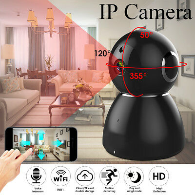 GUUDGO 1080p HD Pan & Tilt WIFI IP Kamera Motion Detection Monitor Cloud-Speiche