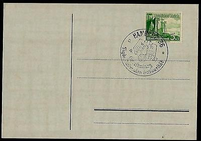 GERMANY Third Reich  Cancelled Postcard