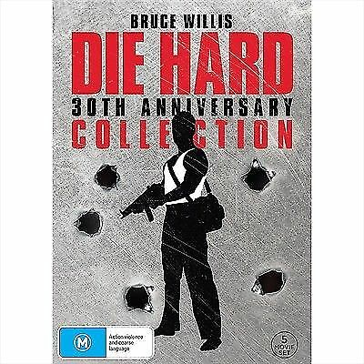 Die Hard 1 2 3 4 5 - 30th Anniversary Collection, NEW SEALED AUSTRALIAN Release