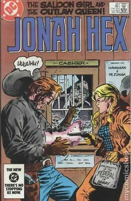 Jonah Hex (1st Series) #88 1984 VG 4.0 Stock Image Low Grade