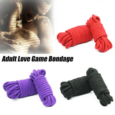 Well Well 10M Thicken Cotton Bondage Rope String Soft To Touch Tie Up Fun Gift T