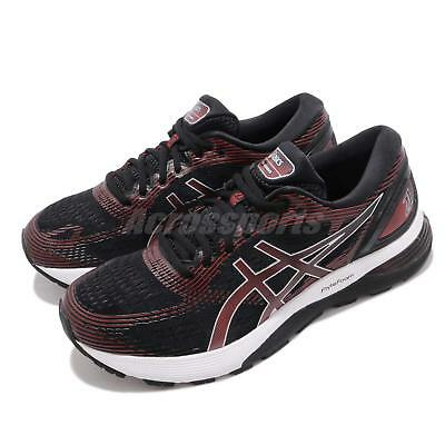 ASICS GEL NIMBUS 21 Men's 1011A169.002 BlackClassic Red