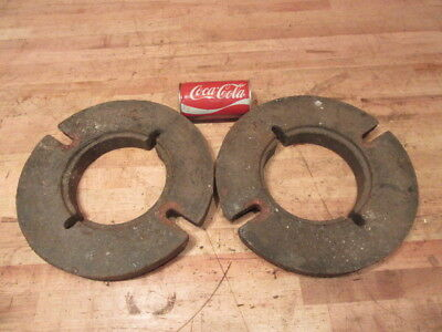 Rare Vintage International Cub Cadet Garden Tractor Inside Wheel Weights S6W-C1