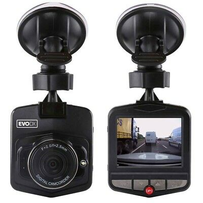 EvoDX HD1080P Car Camera Accident Dash Camera with Colour Screen, Wide Angle Kit