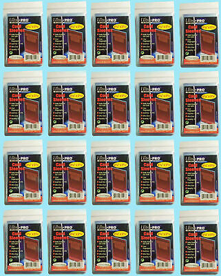 2000 Ultra Pro Standard Penny Soft Card Sleeves New Acid Free No PVC