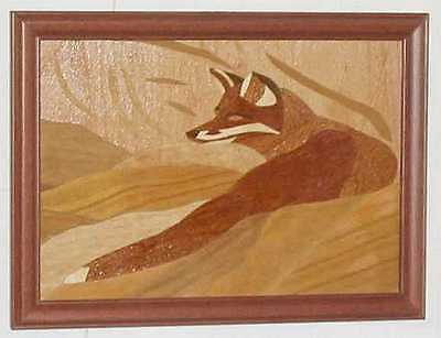 Inlaid picture - Fox