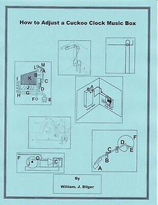 How to Adjust a Cuckoo Clock Music Box - Book - CD -