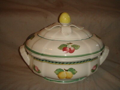 Villeroy & Boch French Garden Fleurence Tureen / Covered Casserole