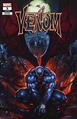 VENOM #3 SKAN variant exclusive 1st app KNULL DONNY CATES MARVEL 2018 NM stegman