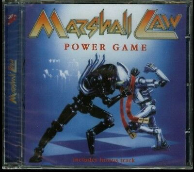 Marshall Law Power Game CD new Angel Air Records ‎– SJPCD327