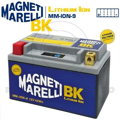 Batteria Litio Magneti Marelli Mm-Ion-9 Yt12A Kymco Downtown 300 2009-2015