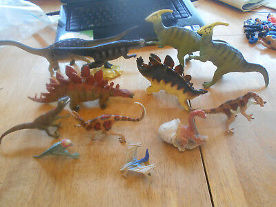 Collection Of Vtg 1980S Early 1990S Dinosaurs.carnegie Safari  Ltd And Others