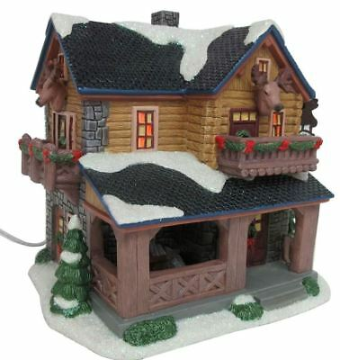 "St Nicholas Square Village  ""moose Mountain Lodge"" New For 2018 * Free Shipping"