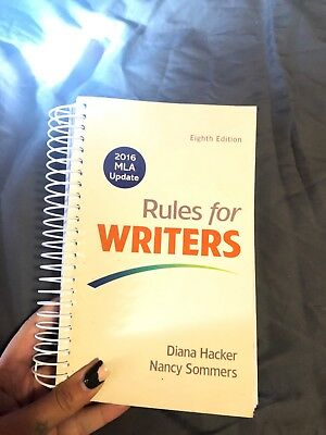 Rules for Writers by Diana Hacker and Nancy Sommers (2016, Spiral, Revised)