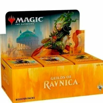 MAGIC MTG GUILDS OF RAVNICA Booster Box Factory Sealed - Free Ship