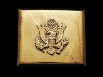 IE19128 VINTAGE 1970s **SEAL OF THE UNITED STATES** BELT BUCKLE