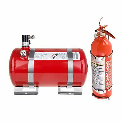 Lifeline Fire Marshal Electric Extinguisher Rally Package - 4L & 2.4L Handheld