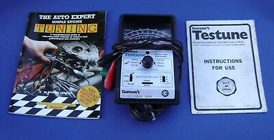 Gunson's Testune Silicon-Chip Multimeter -  Old 4 Wire - 1970-80s Classic car
