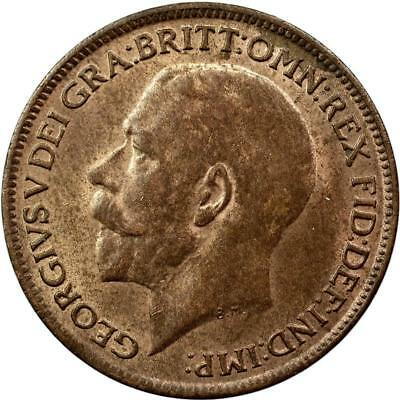 Great Britain - Farthing - 1919 - George V