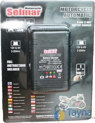 Selmar Motorrad Automatic Batterie Charger 6/12V 500mA