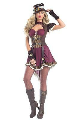 Be Wicked 5 Piece Steampunk Rider Costume - BW1548
