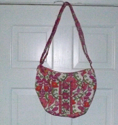 Vera Bradley Signature Print Crossbody Purse - Lilli Bell Pattern - Retired c99ae88c79149
