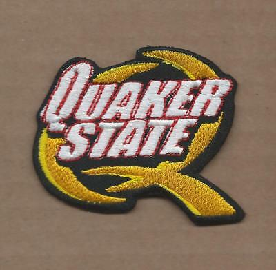 New 2 1/2 X 3 Inch Quaker State Motor Oil Iron On Patch Free Shipping