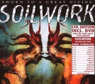Soilwork - Sworn To A Great Divide - Double CD/DVD - New