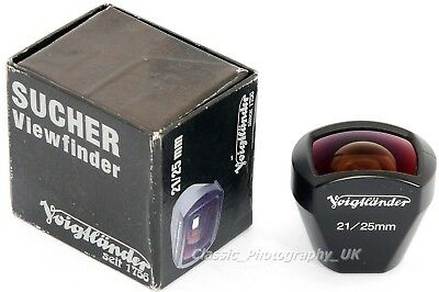 Voigtlander 21/25mm Viewfinder Shoe-Mount Finder for 21mm 25mm Rangefinder Lens
