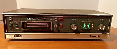 PANASONIC RS-806US 8-TRACK Player / Recorder RECORDS AND PLAYS Fine Nice Meters