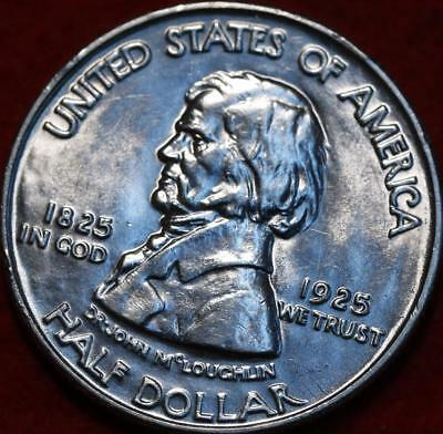 Uncirculated 1925 Fort Vancouver Centennial Silver Comm Half