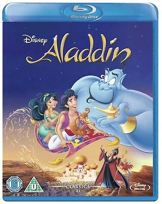 ALADDIN (1992) Robin Williams Blu-Ray BRAND NEW Free Ship