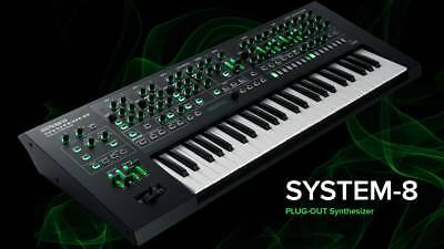 ROLAND SYSTEM-8 Synthesizer New in Box