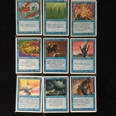 magic the gathering cards. Revised edition I believe