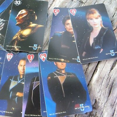 BABYLON 5 The Space Deck' Limited Edition Playing Card Set (54) by Jenjai 1998