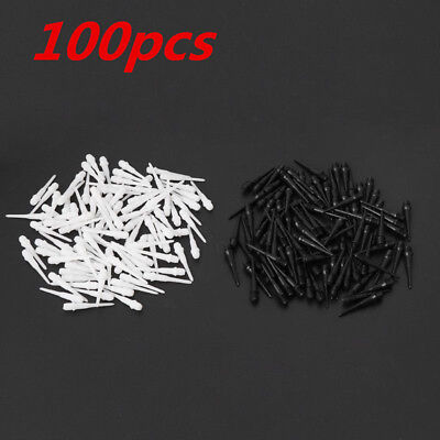 100X Soft Tips Points For Soft Tip Darts Electronic Dart 2BA Screw Thread