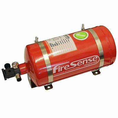 SPA Design Electrical Automatic Saloon Car AFFF Steel Fire Extinguisher 4 Litre