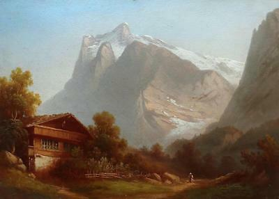 Hubert Sattler -PAIR of Austrian Landscapes -Exceptional Quality
