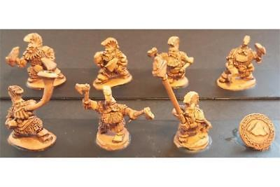 Battle Valor Dwarians 15mm Dwarian Forgiven w/Two Hand Axes Pack MINT