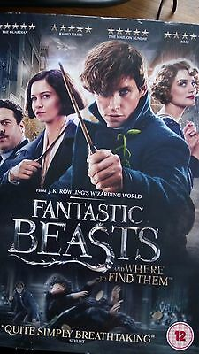 Fantastic Beasts and where to find them DVD J K Rowling SEALED