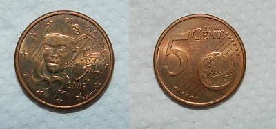 5 Euro Cents - France 2009