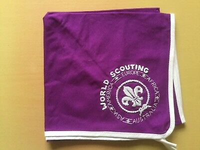 World Scouting Scouts World Scouting Asia America Europe neckerchief scarf