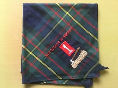 USA Boy Scouts Boy Scouts Of America Gilwell Troop 1 neckerchief scarf