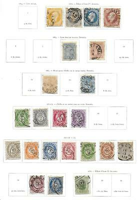 Norway stamps 1856 Collection of 22 CLASSIC stamps HIGH VALUE!