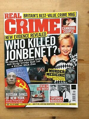 Real Crime Magazine - Issue 41 - Mint - Free P&p