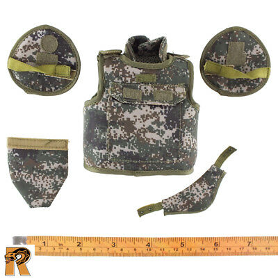 Flagset Action Figure UN Chinese Peacekepping Ammo Pouch Vest #1-1//6 Scale