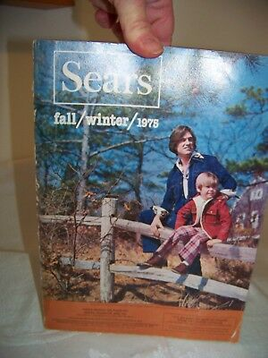 Sears Catalog Fall Winter 1975 (Original / Vintage)